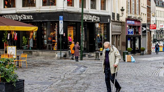 Bélgica decreta recolher obrigatório a partir de segunda-feira