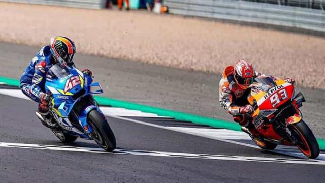 Rins segura Márquez e vence etapa de Aragão; Mir assume a liderança da MotoGP