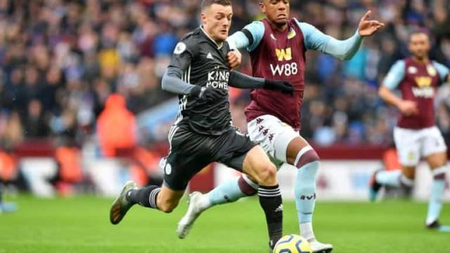 Aston Villa derrota Leicester e garante vice-liderança do Inglês