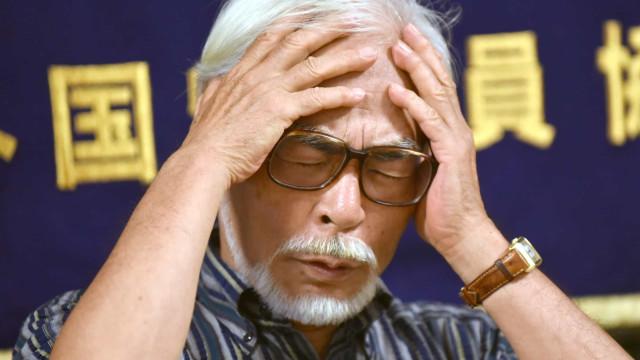 Filme retrata Hayao Miyazaki como um santo humano, doce e cruel