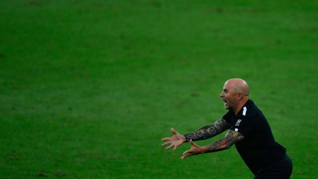 Com aproveitamento caindo, Sampaoli cobra melhora nas finalizações do Atlético-MG
