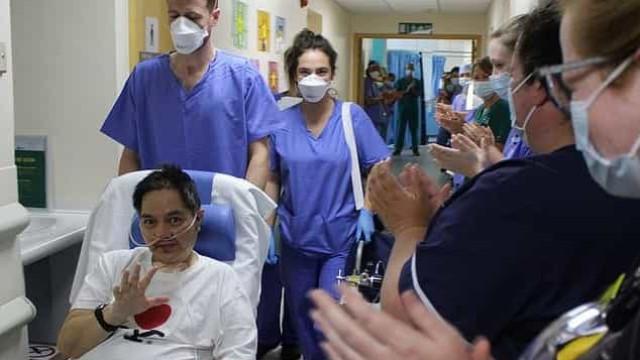 Doente aplaudido ao sair da UTI há dois meses, morre de Covid-19