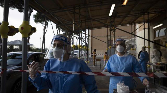 Itália perto dos 11 mil novos casos