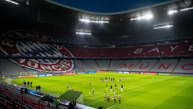 Bayern inicia defesa do título da Liga dos Campeões contra o Atlético de Madrid