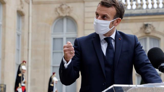 Macron anuncia novo confinamento na França até 1º de dezembro