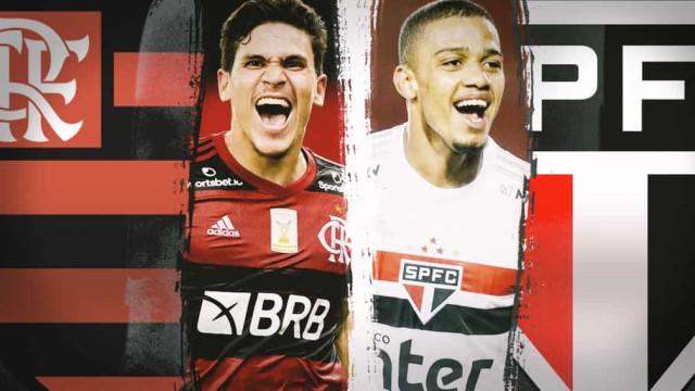Flamengo e São Paulo investem pesado, mas colhem resultados distintos