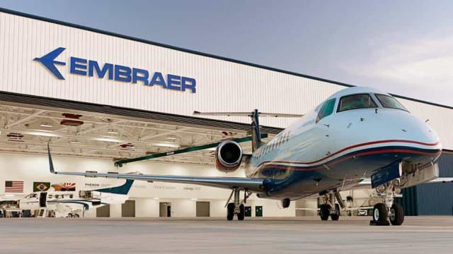 Com pandemia, Embraer registra prejuízo de R$ 2,4 bilhões em 2020