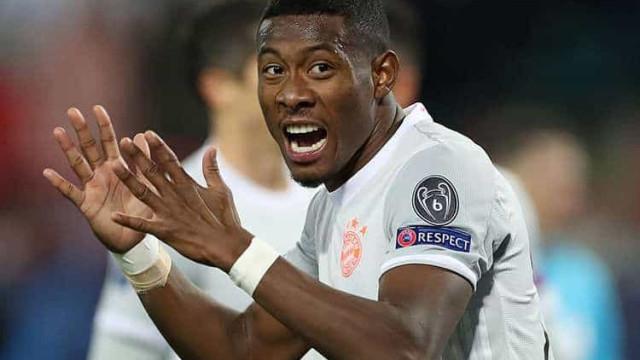 Alaba não entra em acordo por renovação e deve deixar o Bayern de Munique