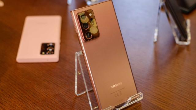 Samsung pode desistir do Galaxy Note em 2021, diz CEO
