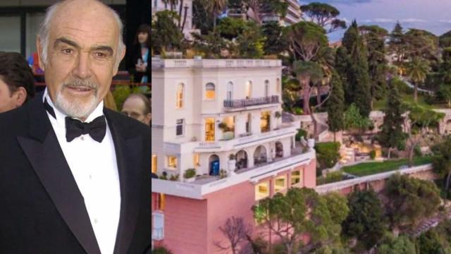 Mansão de Sean Connery na Riviera Francesa é posta à venda por R$ 180 milhões