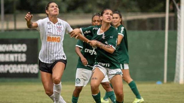 Palmeiras e Corinthians testam rivalidade na semifinal do Brasileiro feminino