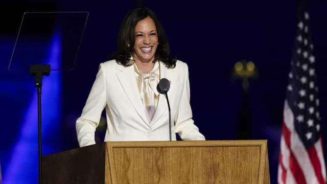 Leia a íntegra do discurso da vitória de Kamala Harris