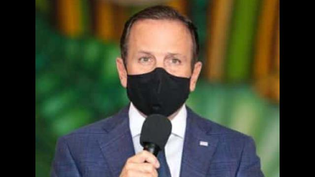 Doria: É de uma atrocidade o presidente do Brasil contestando o uso de máscaras