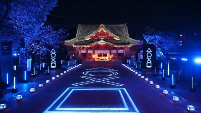PlayStation 5 chega ao Japão com evento especial em templo milenar