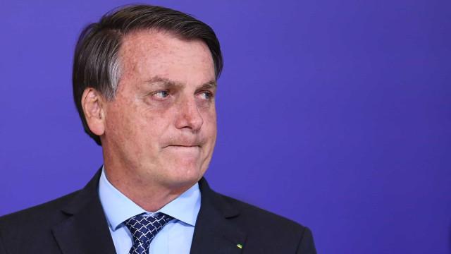 'Eu tive a melhor vacina, o vírus', diz Bolsonaro