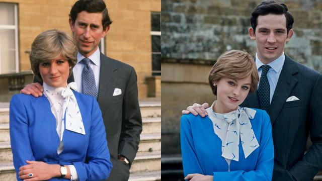 'The Crown': Looks icônicos da princesa Diana fazem sucesso na série