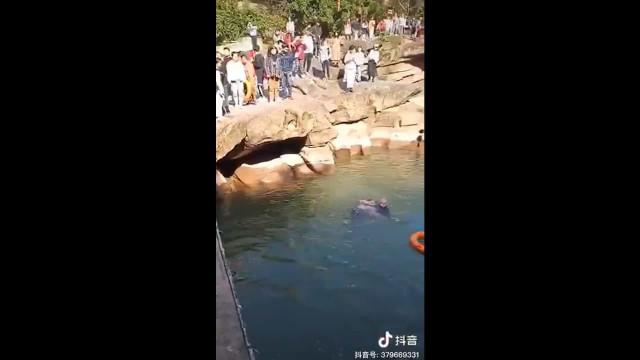 Diplomata britânico se joga em rio e salva jovem de afogamento na China