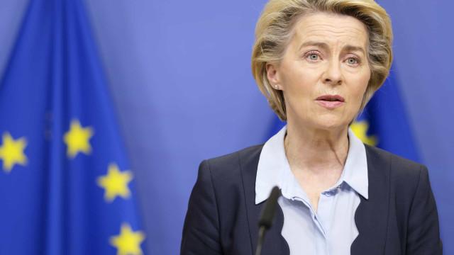 UE: Von der Leyen defende redução de dependência de matérias-primas importadas