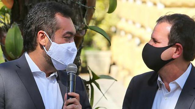 Ao lado de Claudio Castro, Paes prega diálogo com Bolsonaro e governo do Estado