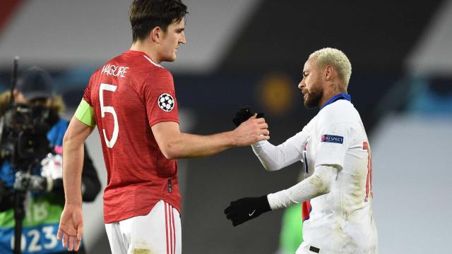 Após show em vitória sobre United, Neymar diz: Nunca me vi jogando Liga Europa'