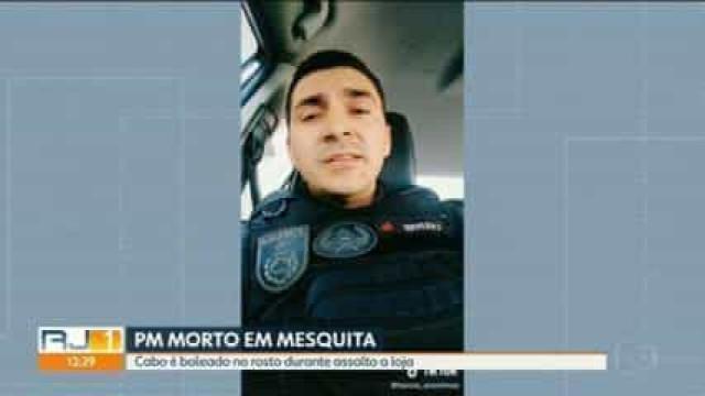 Policial Militar é morto a tiros em Nova Iguaçu