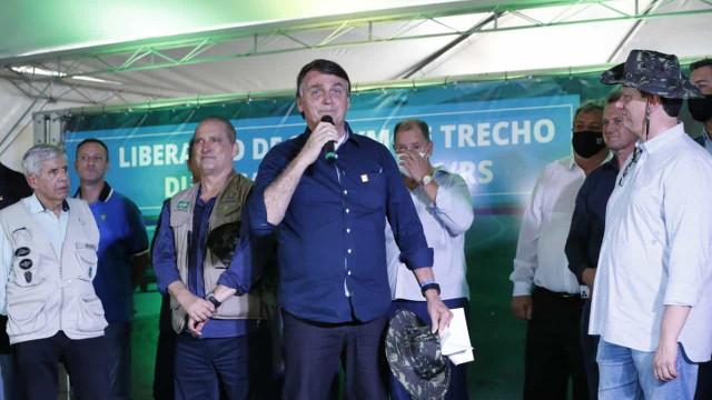 É menos ruim inflação do que desabastecimento, diz Bolsonaro
