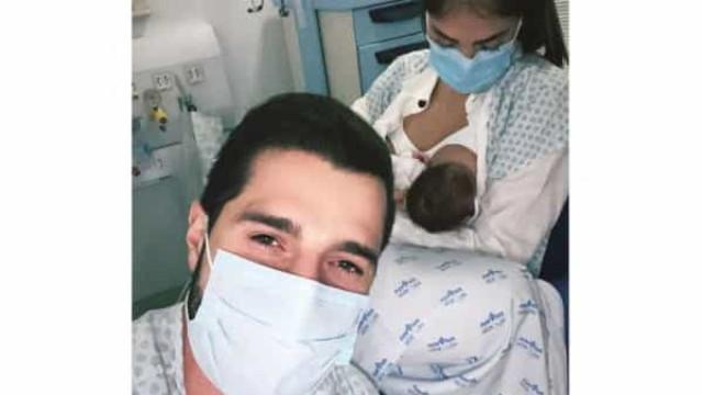 Após live, Alok posta foto em hospital ao lado da mulher e da filha