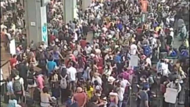 Dois dias após aglomeração, Guarulhos prevê aumento de 8% nos passageiros