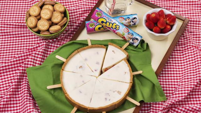 Aprenda a fazer um deliciosa receita de Cheesecake Picolé de Gufs