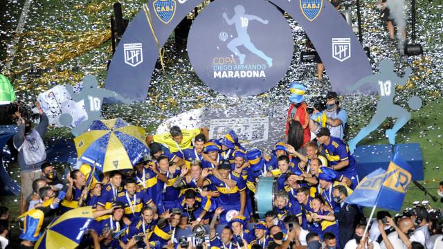 Nos pênaltis, Boca Juniors derrota o Banfield e vence a Copa Diego Maradona