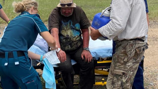 Homem é resgatado após 3 semanas comendo cogumelos selvagens