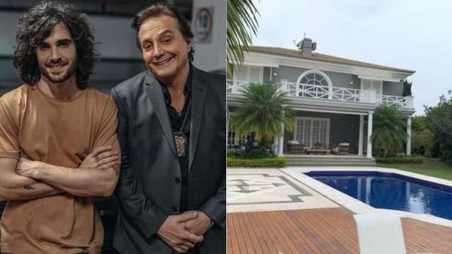 Fábio Jr. coloca mansão em que mora com Fiuk à venda por R$ 8,5 milhões