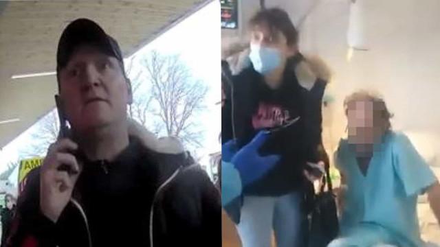 Negacionista invade hospital e tenta tirar oxigênio de paciente