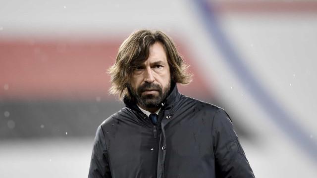 Pirlo diz não temer que Uefa exclua Juventus da próxima Liga dos Campeões