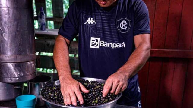 Açaí e Amazônia Azul inspiram nova camisa de aniversariante Remo