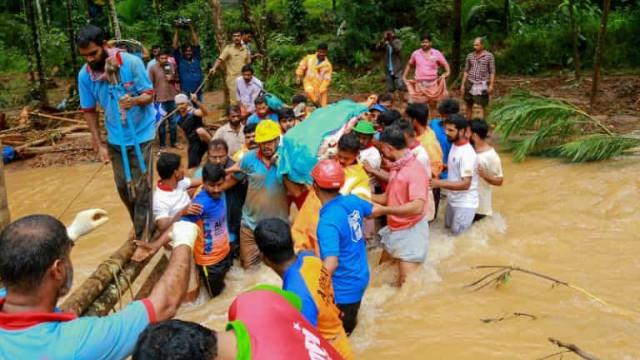 Inundações deixam mortos e centenas de desaparecidos no norte da Índia