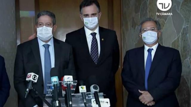 Pacheco e Lira cobram discurso único entre Poderes e liderança de Bolsonaro