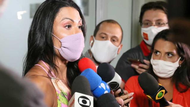 Após prisão de Belo, Gracyane Barbosa diz que alguns são oprimidos por tentar trabalhar