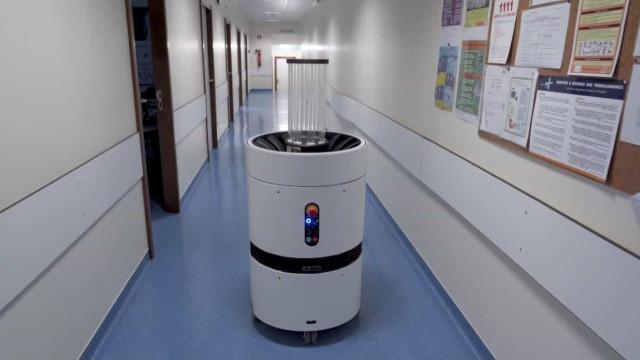 Startup portuguesa desenvolve robô que ajuda a prevenir a Covid-19