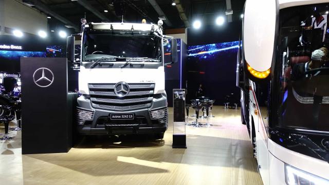 País volta a ser maior mercado de caminhão da Mercedes, que reafirma investimento