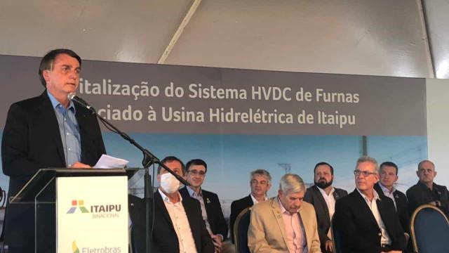 Bolsonaro volta a defender Silva e Luna: 'Conduziu Itaipu de forma ímpar'