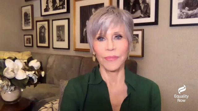 """Jane Fonda encoraja à vacinação. """"O mais rápido possível"""""""