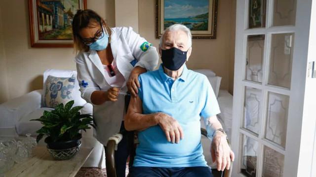 Ator Orlando Drummond, o 'seu Peru', morre aos 101 anos