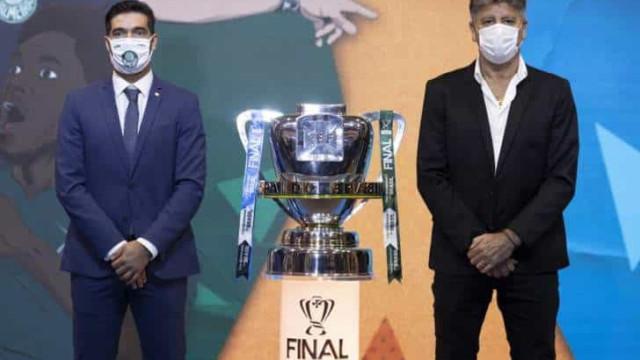 Na final da Copa do Brasil, Grêmio e Palmeiras fazem duelo de técnicos de ponta