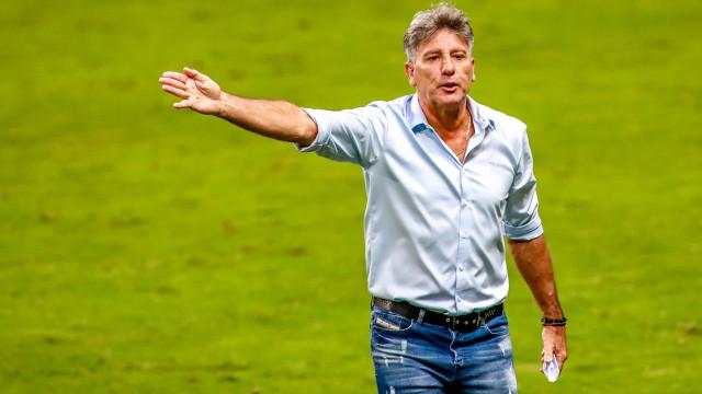 Renato Gaúcho vê Grêmio desatento, mas projeta reação em final: 'Demos mole'