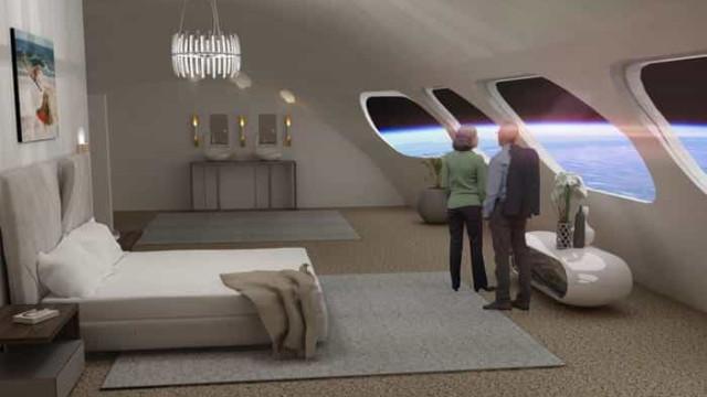 Primeiro hotel espacial terá capacidade para 400 pessoas. Veja as imagens