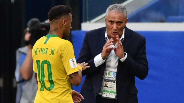Tite exalta evolução recente de Neymar: 'Aumentou seu arsenal'