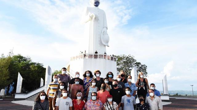 Filme sobre Telma Saraiva conclui filmagens no Cariri