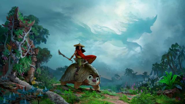 Nova princesa de 'Raya e o Último Dragão' lidera luta da Disney pelo mercado asiático