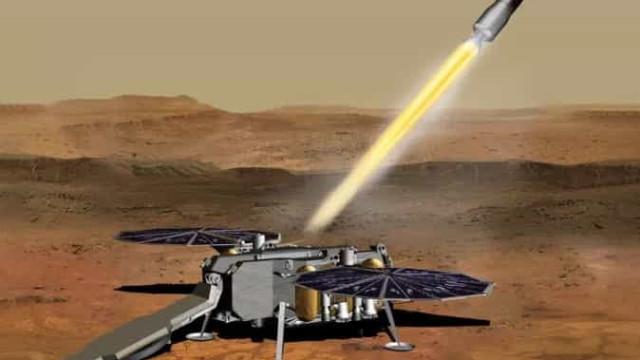 NASA quer recuperar amostras de Marte